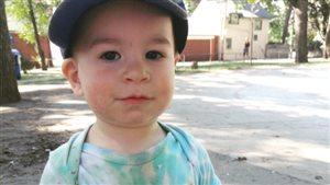 Apollo Nisker, 15 mois