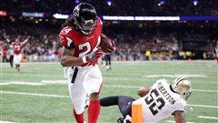 Les Falcons gâchent la fête en Nouvelle-Orléans