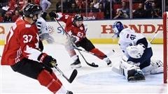 Grâce à Crosby, Bergeron et Marchand, la première manche va au Canada