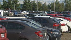 Les stationnements des hôpitaux de Sherbrooke sont pleins à craquer