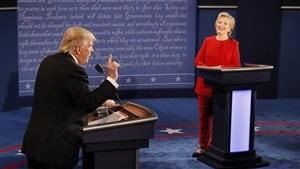 Des erreurs ont été relevées lors du débat entre Hillary Clinton et Donald Trump