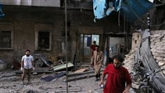 Deux grands hôpitaux d'Alep-Est bombardés