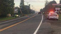Grave accident de la route àRoxtonPond