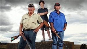 Photo de couverture de la page Facebook « Farmers with Firearms »