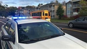 Sensibilisation à la vitesse dans les zones scolaires à Trois-Rivières.