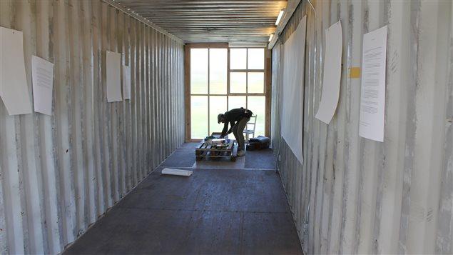 Le Catalyseur d'Imaginaires Urbains est implanté dans Le Virage, un espace réel composé de conteneurs aménagés.