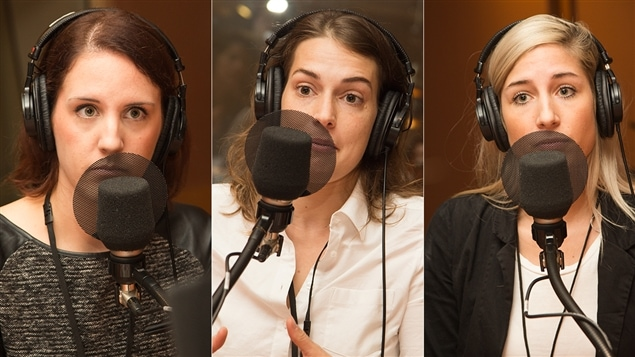 Sophie Morin, Marion Bertrand-Huot et Paméla Plourde