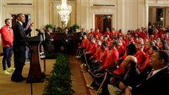 Obama accueille les proches d'athlètes afro-américains de 1936