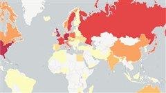 Où sont nés les lauréats des prix Nobel? La réponse en carte