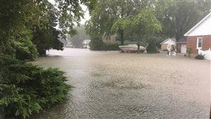 Windsor-Essex a reçu des quantités records de précipitations.