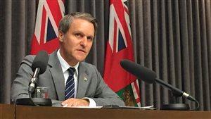 Cameron Friesen, ministre des Finances du Manitoba