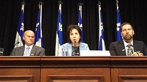 La protectrice du citoyen du Québec, Raymonde Saint-Germain