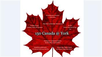 150 ans de la confédération : Une perspective planétaire à l'Université York
