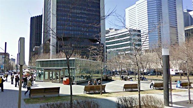 La tour de la Bourse de Montréal