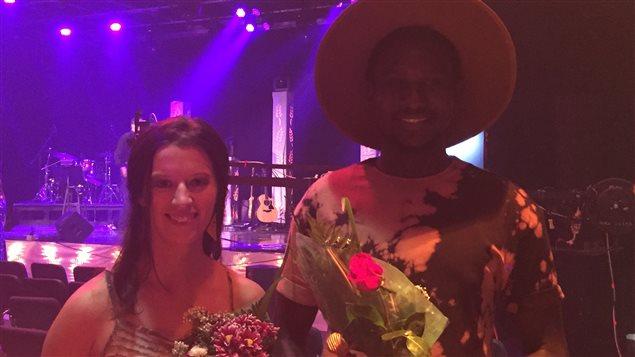 Sophie Villeneuve et Mamadou sont les gagnants du Chant'Ouest 2016