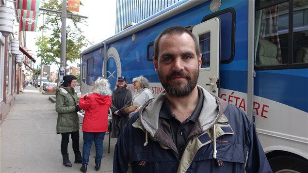 François Nadeau bénéficie des services de la Société Saint-Vincent-de-Paul