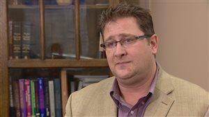 Mark Snaterse, directeur des soins de santé mentale et des problèmes de dépendance pour Services de Santé Alberta dans la région d'Edmonton.