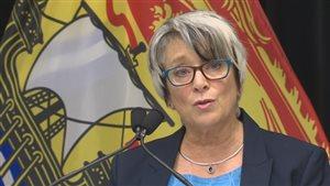 La ministre Cathy Rogers