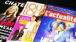 Les magazine Châtelaine, Loulou et L'actualité