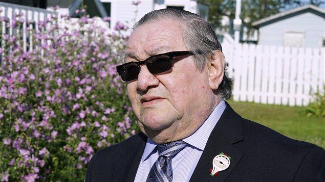 Le chef du conseil des Innus de Pessamit, René Simon