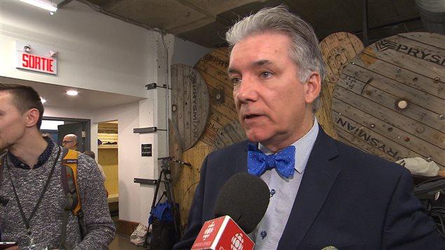 Daniel Turp, président de l'IRAI