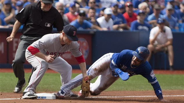 Match entre les Blue Jays et les Red Sox le 10 septembre