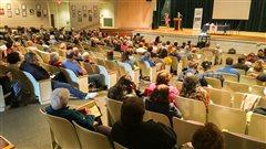 La Coalition d'aide aux victimes de la pyrrhotite prête main-forte au Connecticut
