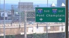 Le pont Champlain fermé toute la fin de semaine en direction de la Rive-Sud