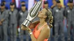 Kvitova l'emporte à Wuhan