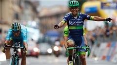 Esteban Chevez triomphe au fil d'arrivée