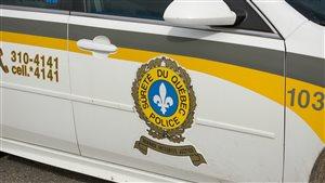 Autopatrouille de la Sûreté du Québec.