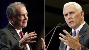 Qui sont Mike Pence et Tim Kaine, colistiers de Donald Trump et Hillary Clinton?