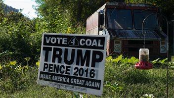 La ferveur Trump au pays du charbon