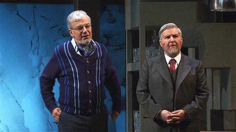 Carl Béchard et Benoît Brière dans «Tartuffe» au TNM