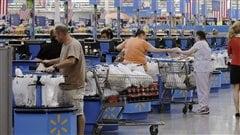 Walmart n'accepte plus les cartes de crédit Visa dans ses 16magasins au Manitoba