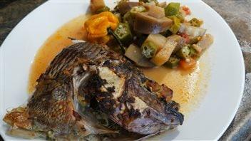 Vos meilleures recettes franco-manitobaines:le tilapia, gombo et foufou