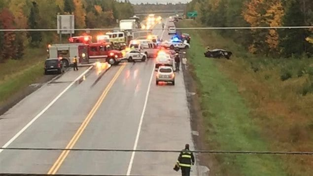 Une femme de Saint-Louis-de-Kent meurt dans un accident à Bouctouche - ICI.Radio-Canada.ca
