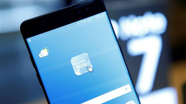 Le Galaxy Note 7 de Samsung