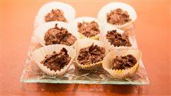 Croquants au chocolat de Lorraine Pagé