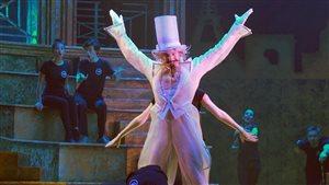 Répétition du spectacle « Princesse de Cirque », le 4 octobre 2016