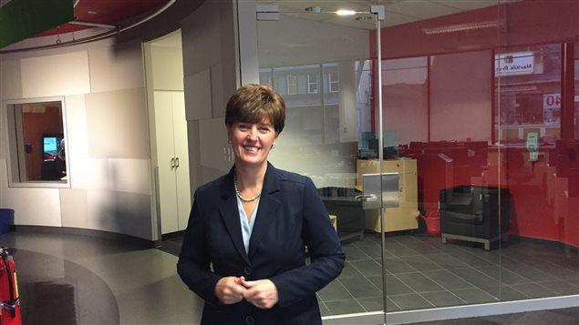 Marie-Claude Bibeau, Ministre du Développement international et de la Francophonie.