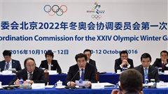 Pékin a déjà amorcé les travaux pour 2022