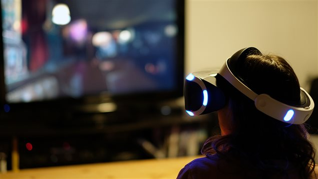 Le casque de réalité virtuelle PlayStation VR