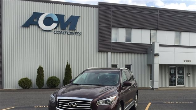 ACM Composites à Drummondville