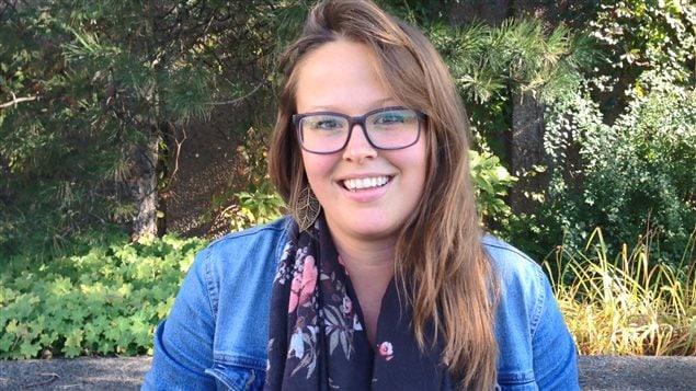 L'étudiante au doctorat Anne-Sophie Letellier