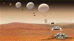 Mission ExoMars : l'atterrisseur Schiaparelli serait perdu