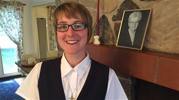 LaFransaskoiseApril Mireau, plusjeune religieuse de la Saskatchewan