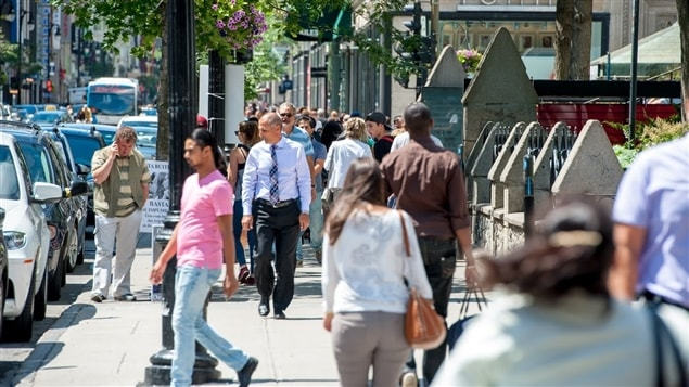 On retrouve beaucoup de travailleurs pauvres dans les quartiers centraux de Montréal, dont le centre-ville.