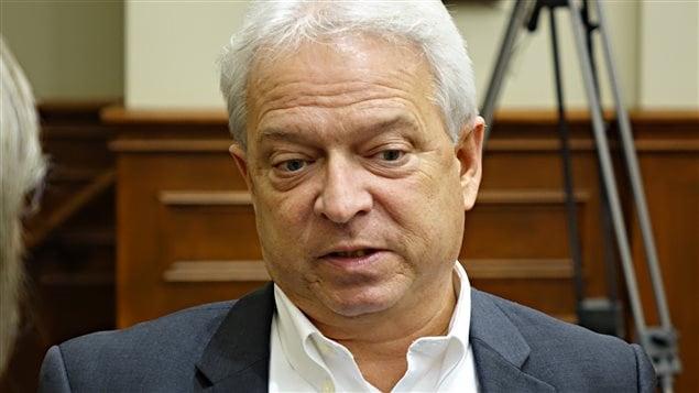 Jean-François Rouleau, conseiller municipal à Sherbrooke