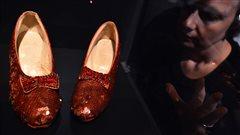 Campagne pour sauver les souliers rouges du<em>Magicien d'Oz</em>